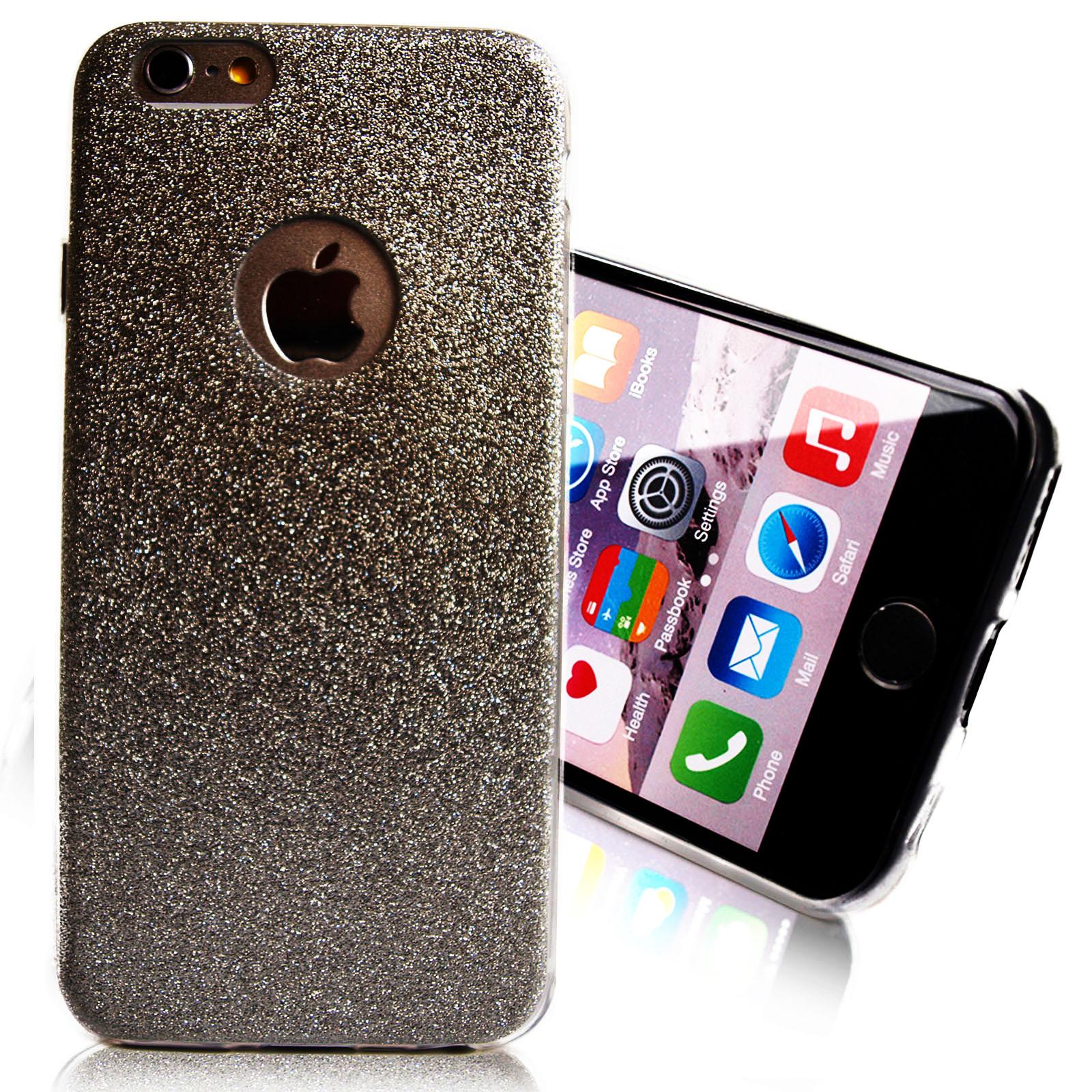 iphone 7 8 schutz h lle case diamant blumen glitzer strass. Black Bedroom Furniture Sets. Home Design Ideas