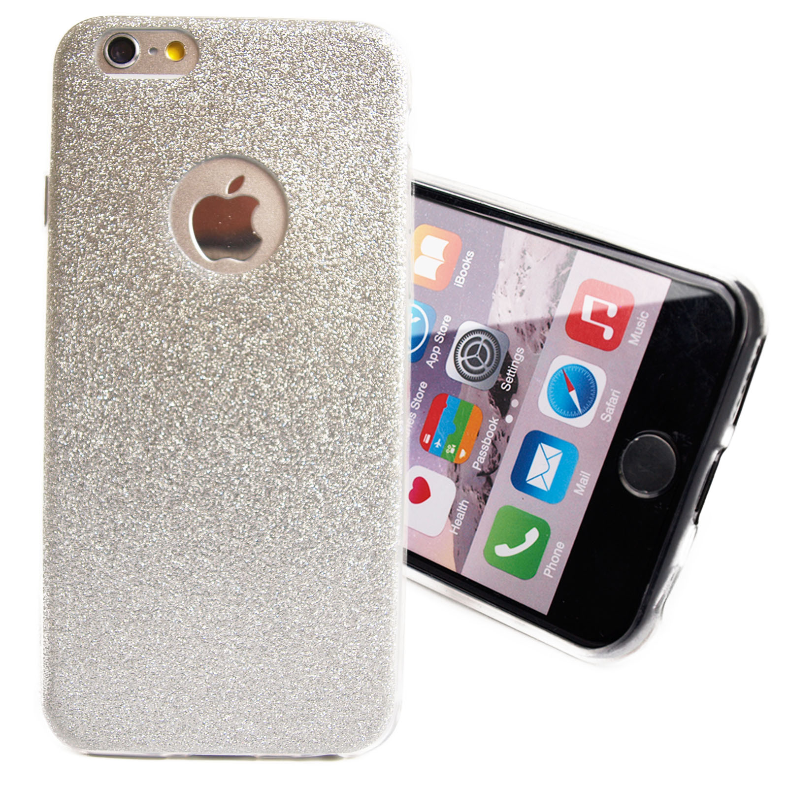 iphone 7 8 plus schutz h lle case diamant blumen glitzer. Black Bedroom Furniture Sets. Home Design Ideas