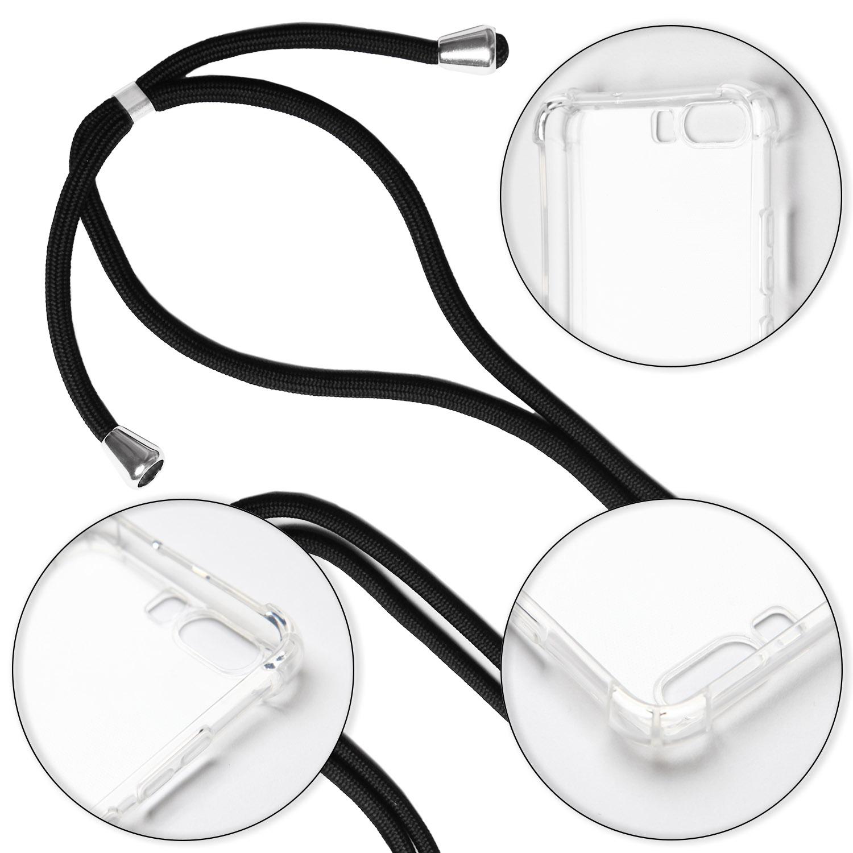 Chaine-De-La-Gaine-pour-Apple-iPhone-7-8-Plus-Cable-Case-Cover-Couverture-Thin miniature 5