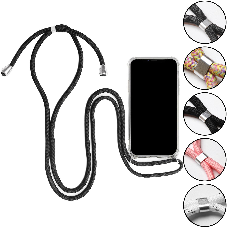 Cas-Avec-Collier-pour-Apple-iPhone-X-XS-XR-XS-Max-Protection-Chaine-Souple