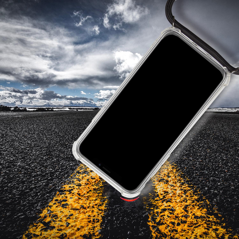 Cas-Avec-Collier-pour-Samsung-Galaxy-A50-Mettre-Protection-Souple-Case-Bumper miniature 4