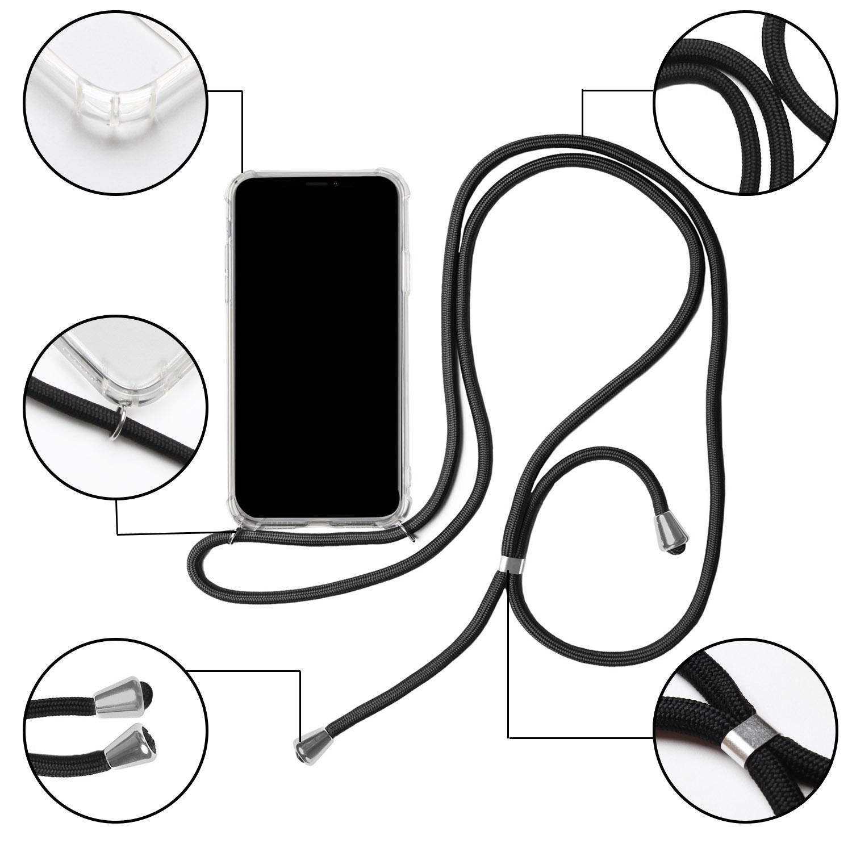 Cas-Avec-Collier-pour-Samsung-Galaxy-A50-Mettre-Protection-Souple-Case-Bumper miniature 6
